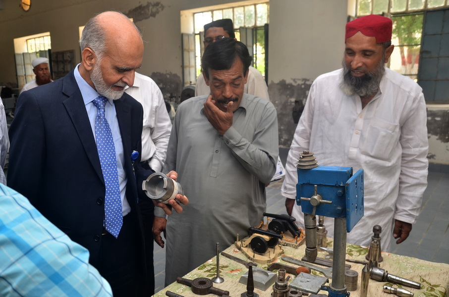 Chairperson NTC visit to BBS University of Technology and Skill Development