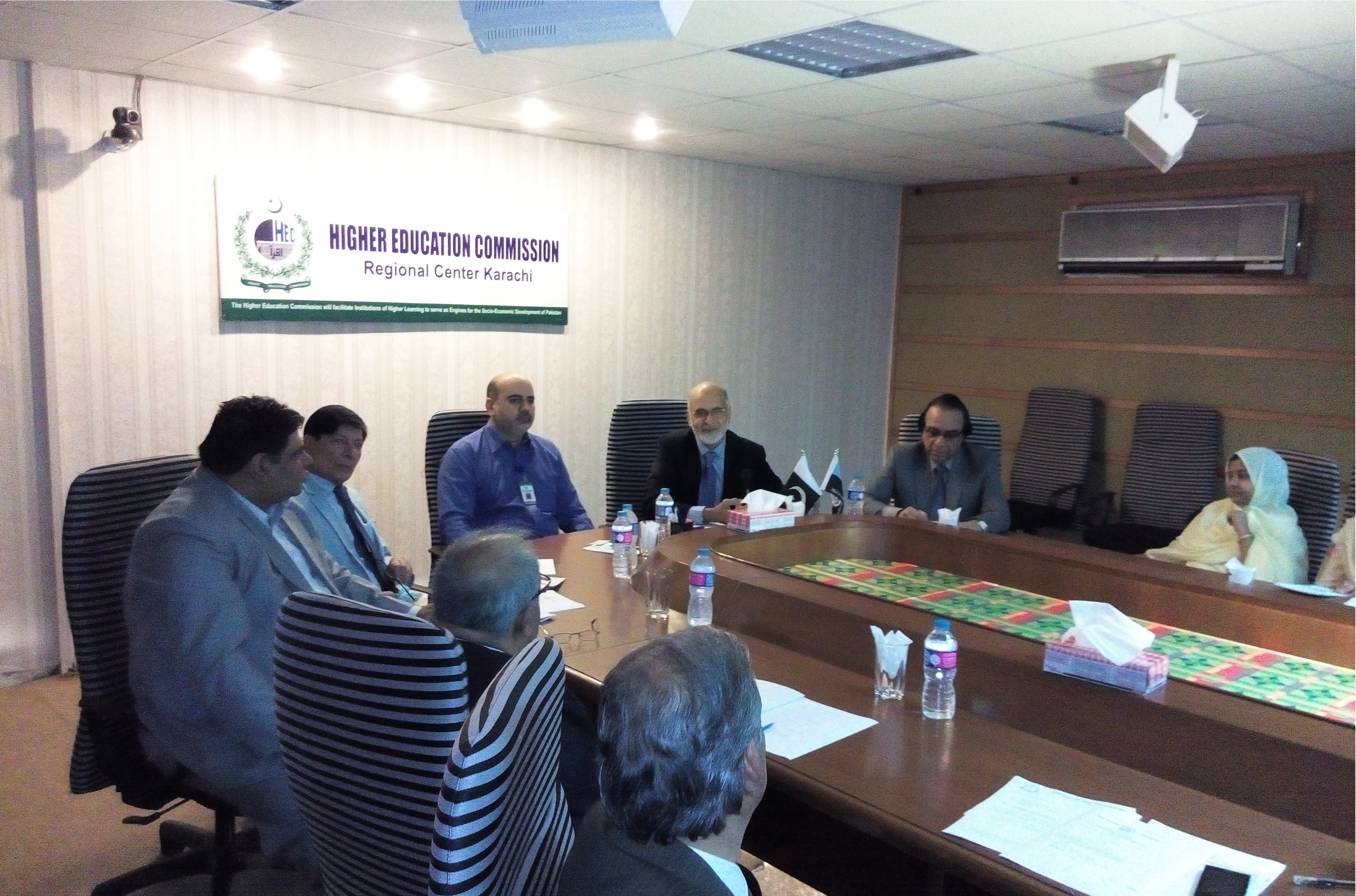 Seminar at HEC Regional Office Karachi